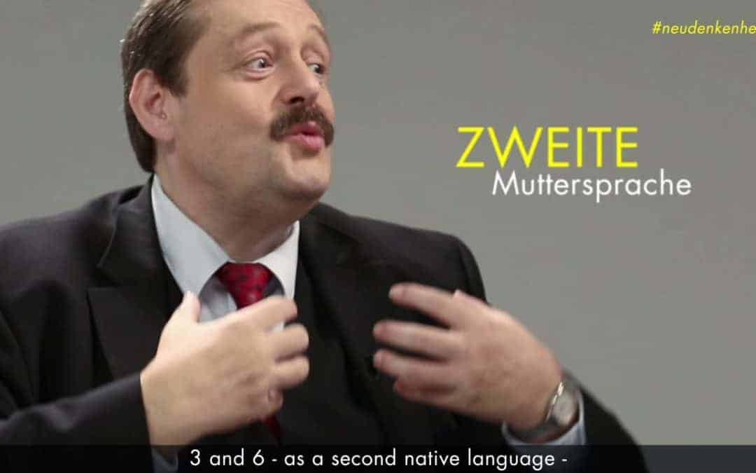 "Prof. Gruber ""Second Native Language"""