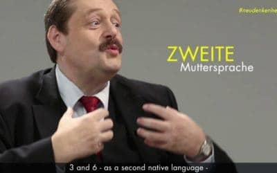 "Interessantes Video zum Thema ""Second Native Language"""